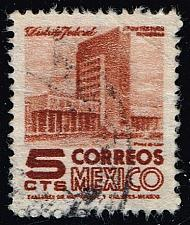 Buy Mexico #857 Modern Building; Used (0.25) (1Stars) |MEX0857-01XRS