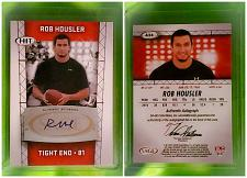 Buy NFL Rob Housler Autographed 2011 Sage Hit Rookie Football Mint