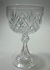Buy Cut glass wine stemware Hand cut