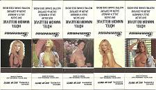 Buy LOT of 5 Nude Pinup Vintage Match Book Covers Hotel Manoir Bellevue Quebec Set