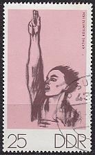 Buy GERMANY DDR [1970] MiNr 1609 ( OO/used ) Kunst