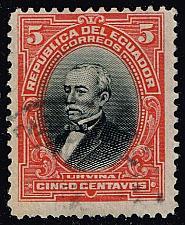 Buy Ecuador #206 Jose M. Urvina; Used (2Stars) |ECU0206-05