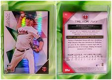 Buy MLB TREVOR MAY MINNESOTA TWINS 2015 TOPPS FINEST ROOKIE X-FRACTOR #82 MMT