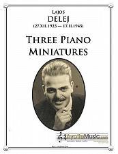 Buy Delej - Three Piano Miniatures