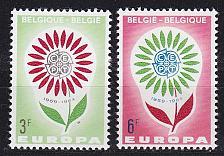 Buy BELGIEN BELGIUM [1964] MiNr 1358-59 ( **/mnh ) CEPT