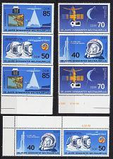 Buy GERMANY DDR [1986] MiNr 3005 Zd ex ( **/mnh ) [01] Weltraum 2x 3er, 1x 2er