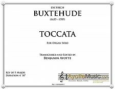 Buy Buxtehude - Buxtehude Toccata 21 in F