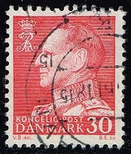 Buy Denmark #385 King Frederik IX (non-fluor); Used (0.50) (3Stars) |DEN0385ord-07