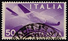Buy Italy #C114 Plane and Clasped Hands; Used (3Stars)  ITAC114-03