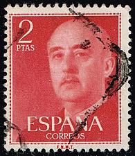 Buy Spain #829 Gen. Francisco Franco; Used |ESP0829-01