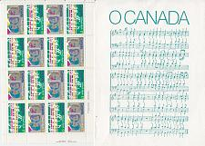 Buy KANADA CANADA [1980] MiNr 0768-69 Bogen ( **/mnh ) National Hymne