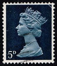 Buy Great Britain #MH8 Machin Head; Used (0.25) (1Stars) |GBRMH008-05XBC