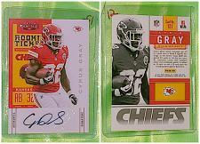 Buy NFL Cyrus Gray Kansas City Chiefs Autographed 2012 Panini Rookie Ticket Mint