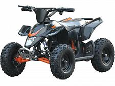 Buy Four Wheeler Kids Black Mini ATV Dirt Bike Electric Battery Boys Girls 24V New