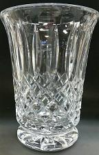 Buy Hand cut Award / vase glass 24% crystal Signed O'ROURKE