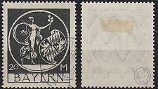 Buy GERMANY Bayern Bavaria [1920] MiNr 0195 ( O/used )