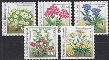 Buy GERMANY BUND [1991] MiNr 1505-09 ( **/mnh ) Blumen