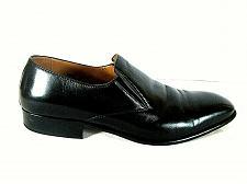 Buy Massimo Emporio Black Leather Slip On Loafer Dress Shoes Men's 13 (SM4)
