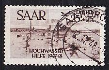 Buy GERMANY Saar [1948] MiNr 0259 ( O/used ) geprüft