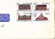 Buy GERMANY DDR [1987] MiNr 3067-70 4er ( Brief )