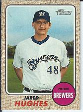 Buy Jared Hughes 2017 Topps Heritage High Numbers SP