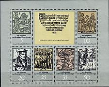 Buy GERMANY DDR [1975] MiNr 2013-18 KB ( **/mnh )