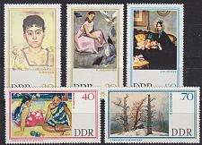 Buy GERMANY DDR [1967] MiNr 1262 ex ( **/mnh ) Gemälde