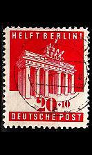 Buy GERMANY Alliiert AmBri [1948] MiNr 0102 E ( O/used )