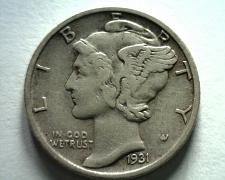 Buy 1931-S MERCURY DIME EXTRA FINE XF EXTREMELY FINE EF NICE ORIGINAL COIN BOBS COIN