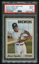 Buy 2019 TOPPS HERITAGE FRENCH TEXT JESUS AGUILAR #476 PSA 9 MINT (46067080)