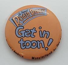 "Buy VINTAGE RODGER RABBIT 1987 DISNEY 1"" COLLECTORS PINBACK BUTTON"