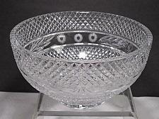 Buy Hand cut lead Crystal bowl, crosscut 5.5 lb