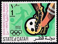 Buy Qatar #303 Soccer; Unused (0.80) (2Stars) |QAT0303-01XVA