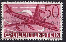 Buy LIECHTENSTEIN [1960] MiNr 0393 ( O/used ) [01] Flugzeuge