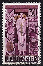 Buy LIECHTENSTEIN [1959] MiNr 0380 ( O/used ) Religion