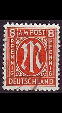 Buy GERMANY Alliiert AmBri [1945] MiNr 0021 D ( O/used )