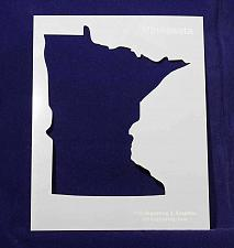 """Buy State of Minnesota Stencil 14 Mil 8"""" X 10"""" Painting /Crafts/ Templates"""