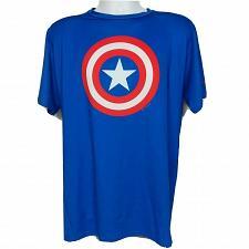 Buy Marvel Under Armour Heat Gear Compression Shirt 3XL Captain American