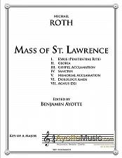 Buy Roth - Mass of St. Lawrence