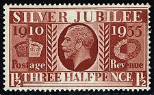 Buy Great Britain #228 Silver Jubilee Issue; MNH (1.40) (4Stars) |GBR0228-04XRS
