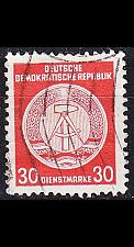 Buy GERMANY DDR [Dienst A] MiNr 0024 I ( OO/used ) [01]