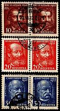 Buy SCHWEIZ SWITZERLAND [1932] MiNr 0259-61 ( O/used ) [01] Paare