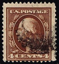 Buy US #334 George Washington; Used (1.50) (2Stars) |USA0334-05