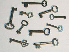 Buy 10 Vintage Skeleton Keys Old Rusty Antique Keys RANDOMLY PICKED from Large Lot