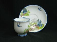 Buy Vintage Gladstone China Cup and Saucer, Very Rare Pattern, George Proctor & Co.