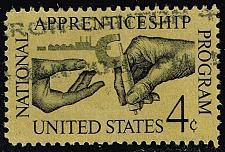 Buy US #1201 Apprenticeship; Used (0.25) (2Stars) |USA1201-02