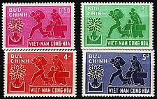 Buy VIETNAM SÜD SOUTH [1960] MiNr 0204-07 ( **/mnh )