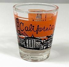 "Buy California Skyline Golden Gate Bridge 2.25"" Collectible Shot Glass"