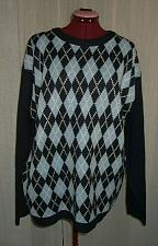 Buy Mens Navy Blue Argyle Sweater Size Large 44 Whispering Smith London