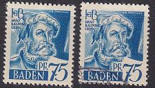 Buy GERMANY Alliiert Franz. Zone [Baden] MiNr 0011 vv I ( **/mnh ) [01] und O/used